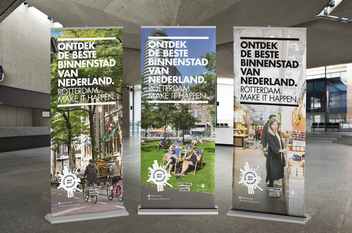 Rotterdam Make it Happen banners