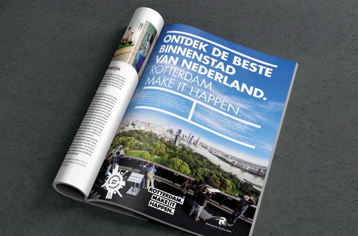 Rotterdam Make it Happen advertentie